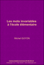 mots-invariables